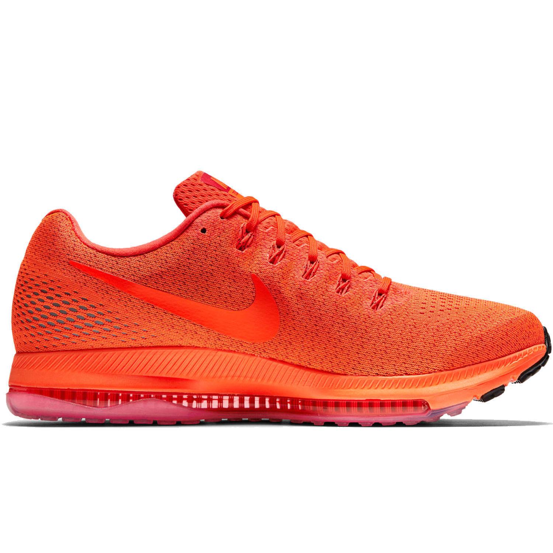 Nike zoom tutti bassi uomini scarpe taglia: 10 totale crimson 878670 800