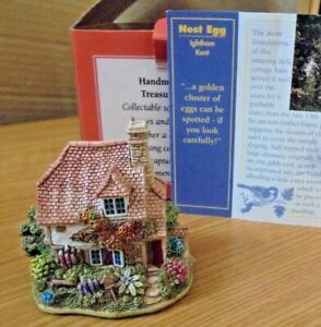LILLIPUT-LANE-L2255-NEST-EGG-IGHTHAM-KENT-ENGLAND-WITH-BOX-amp-DEEDS