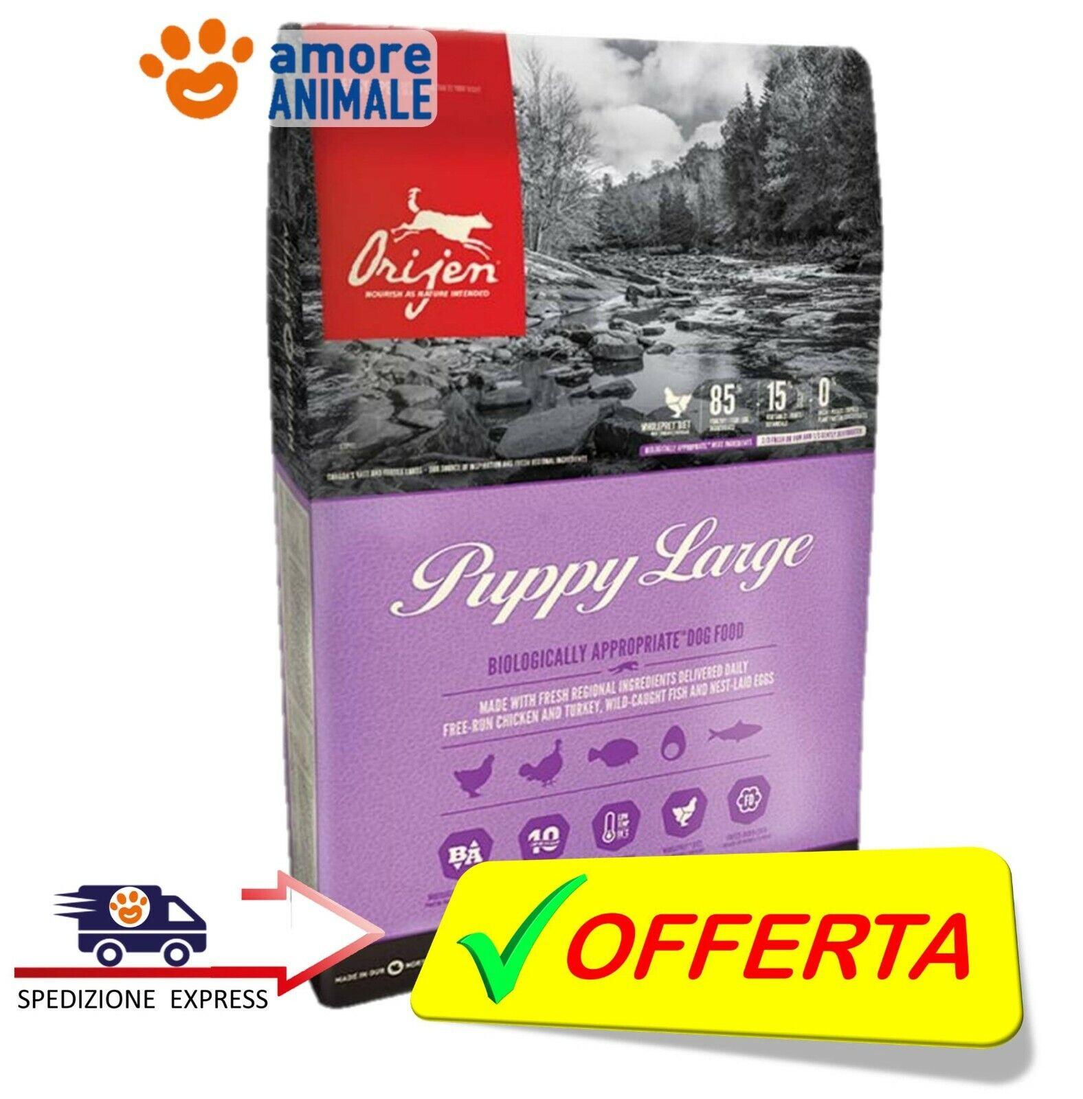 Orijen Dog Puppy Large → 11,4 kg  Crocchette per Cani cuccioli di taglia grande