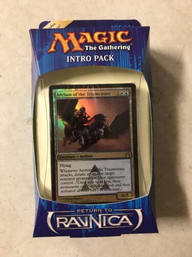 Magic The Gathering Return To Ravnica Azorius Advance Intro Deck MTG Intro