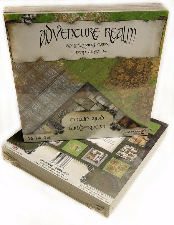 Superb RPG Map Tiles - Adventure Realm  Town and Wilderness Set