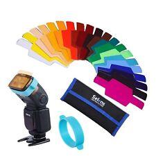 Selens Universal Flash Gels Lighting Filter Se-cg20 - 20 Pcs Combination Kits