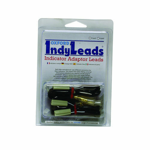 Oxford Motorbike Motorcycle Universal Fit Indy Lead Suzuki (2 Pack) OF782