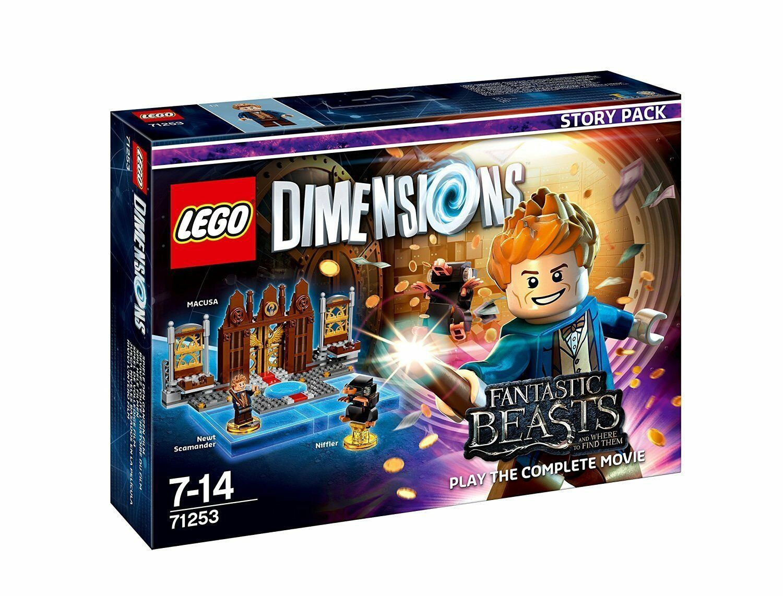 LEGO Dimensions 71253 Fantastic Beasts Beasts Beasts Fantastische Tierwesen Story Pack 88c8c7