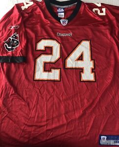 Tampa Bay Buccaneers Mesh Jersey 2XL XXL NFL Equipment Reebok Williams #24 Bucs