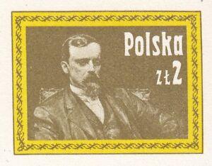 POLAND-1980-mint-Postcard-Cp-750-Henryk-Sienkiewicz-Nobel-Prize-in-1905