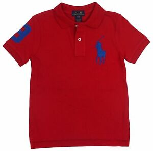 Polo-Ralph-Lauren-Toddler-Boy-039-s-Big-Pony-Red-3T