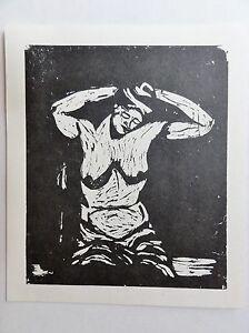 Georg-Tappert-1880-1957-Kunstdruck-vom-Linolschnitt-von-1911-HALB-AKT