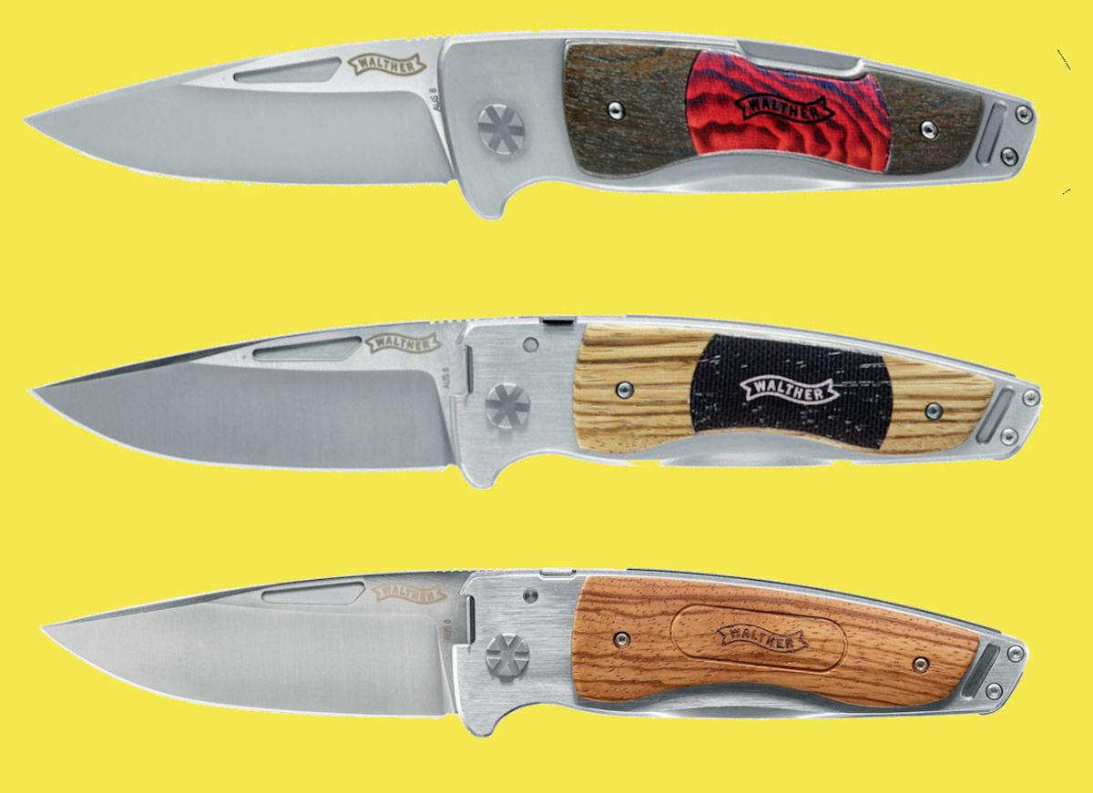 Walther Umarex Taschenmesser Messer Zweihandmesser mit Nagelrille TFW 1 2 oder 3  | Spielzeugwelt, fröhlicher Ozean