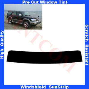 Pre-Cut-Window-Tint-Sunstrip-for-Toyota-Hilux-Surf-5-Doors-1997-2004-Any-Shade