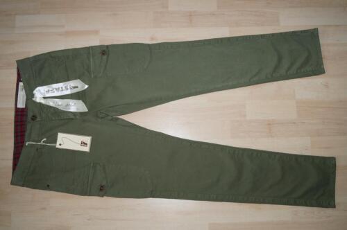 W32  2 Farben beige olivgrün NEU STAFF Silvia Cargohose //Jeans W27