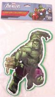 Original Marvel The Incredible Hulk Foam Wall Decoration Ages 3+ Sticker