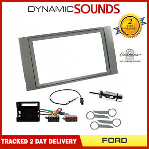 CT24FD41-Autoradio-Double-Din-Carenage-amp-Fixation-Kit-pour-Ford-C-Max-2003-2010