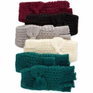 New-Rampage-Womens-Fingerless-Warm-Winter-Half-Finger-Gloves-Texting-Knit