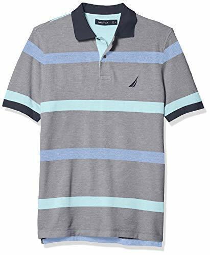 Nautica Men/'s Classic Fit Striped Polo Choose SZ//color