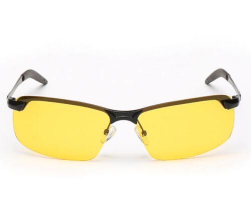 Day Night Vision Men/'s HD Polarized Sunglasses Driving Pilot Mirror Sun Glasses