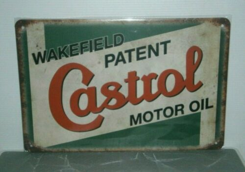 CMOMS2 Castrol Motor Oil Metal Sign New 30 cm W X 20 cm H
