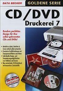 CD-DVD-Druckerei-7-von-Data-Becker-Software-Zustand-gut