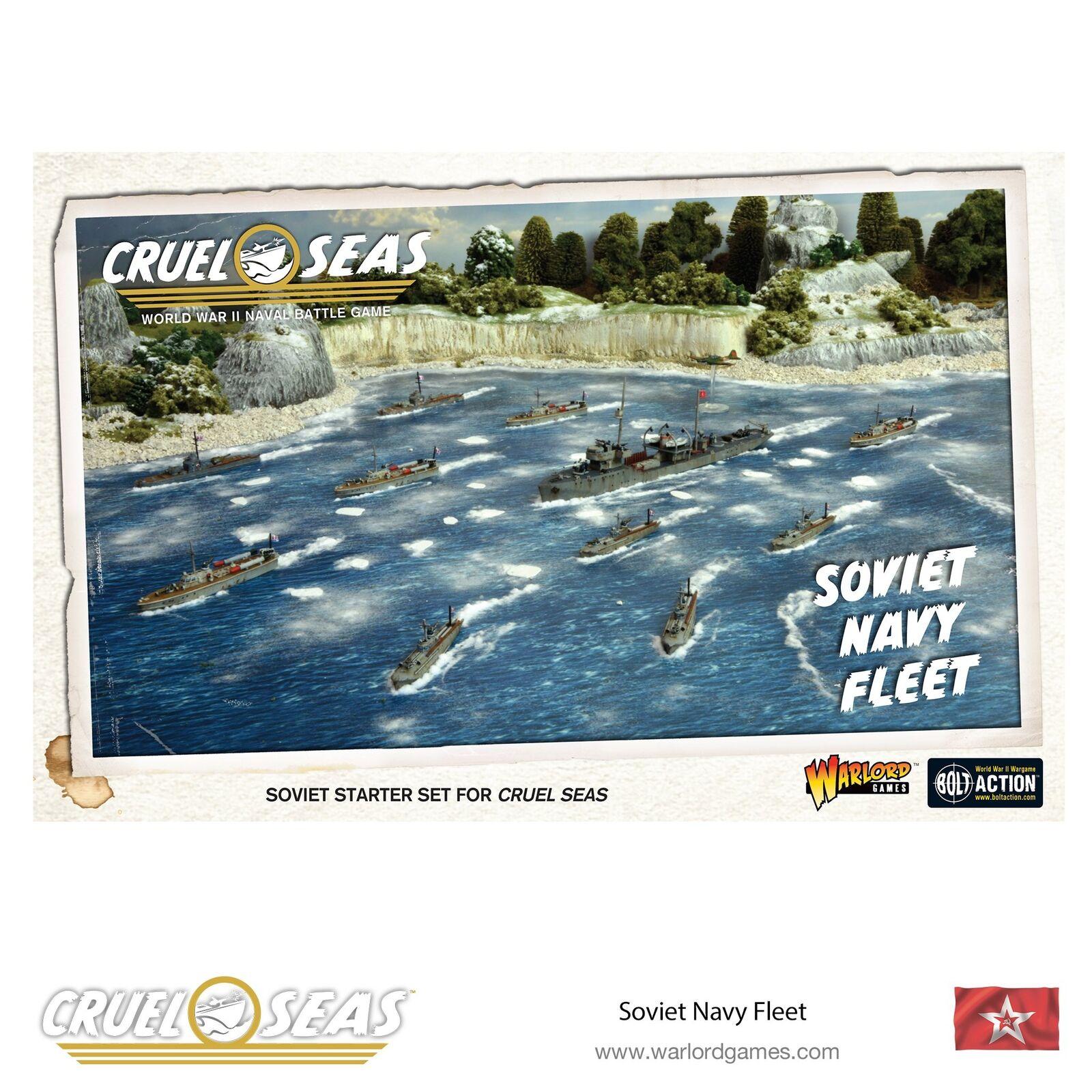 Warlord Juegos cruel Mares Nuevo Y En Caja Azul Marino Flota Soviética WGC-782611003