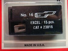 (1) EXCEL 23016 #16 SCORING BLADE 15pk REPLACEMENT BLADE Hobby Art Craft Cutting