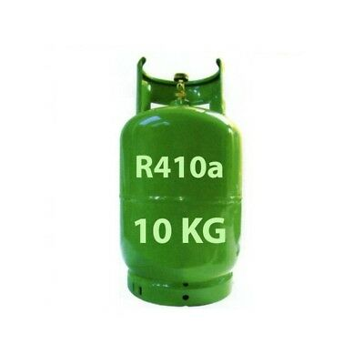 GAS R410A BOMBOLA 10 KG DAIKIN HAIER HISENSE TOSHIBA ECC