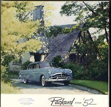 [62282] 1952 PACKARD AUTOMOBILES NEW MODELS (PATRICIAN, MAYFAIR) SALES BROCHURE