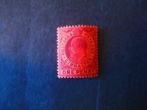Gibraltar-40-Writing-on-Back-Mint-Hinged-AZ2-WDWPhilatelic