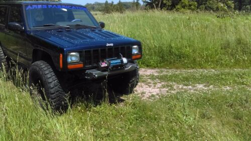 Ares Fabrication XJ Stubby Winch BumperStealthXJ 84-01