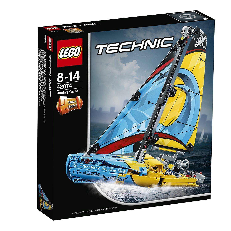 LEGO TECHNIC YACHT DA GARA 42074 costruzioni mattoncini collezione