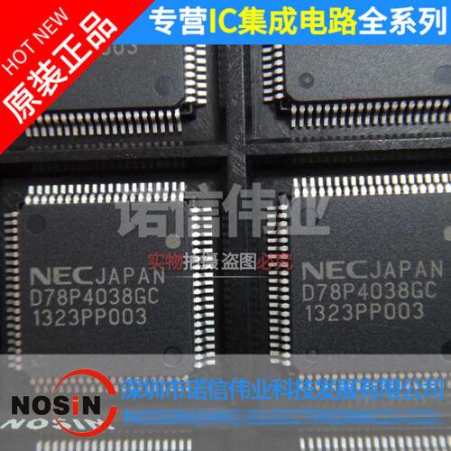 QFP-80 PLASTIC 14 X 14 MM 1PCS UPD78P4038GC D78P4038GC PQFP80
