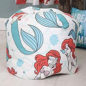 Terrific Details About Disney Princess Ariel Little Mermaid 3Ft Bean Bag Filled Chair Seat Bedroom Machost Co Dining Chair Design Ideas Machostcouk