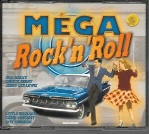 COFFRET-4-CD-COMPIL-100-TITRES-MEGA-ROCK-039-N-039-ROLL-HALEY-BERRY-LEE-LEWIS-DOMINO