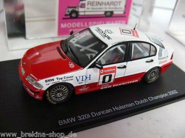 Bienvenue dans la nouvelle boutique en trois étapes pour célébrer les quatre auspicieux 1/43 spark s0408 BMW 320i HuisFemme Dutch champion 2002 | Le Prix De Marché  | Une Grande Variété De Modèles 2019 New