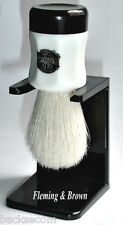 Pure Bristle Shaving  Brush & Drip Stand