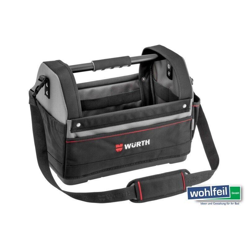 Würth Werkzeugtasche offen mit Kunststoffboden, Art- Nr.  0715930222