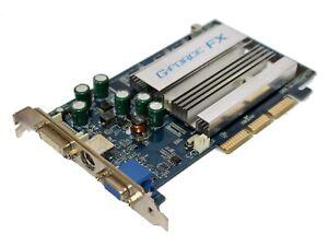 NVIDIA GeForce 2 FX5200 - 128 Mo AGP Carte Graphique Vidéo [5642]