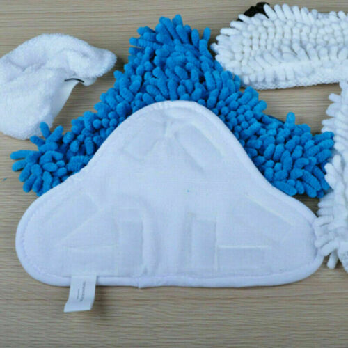 Microfibre Steam Mop Floor Washable Replacement Pads For H2O X5 WL C4U6