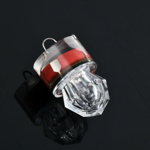 Underwater Diamond Flash Fishing Light Squid Strobe Bait Lure LED Deep Drop NEW