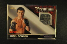 2012 Topps UFC Premium Pieces Chael Sonnen Figher-Worn Gear #'d 69/88