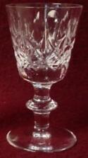 EDINBURGH crystal OLIVE & CROSS edi9 pattern CORDIAL GLASS