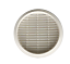Lueftungsgitter-Abluftgitter-Fertiggarage-195-230-mm-rund-Flansch-Garage Indexbild 2