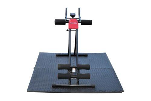 4/'x4/' Eva Mat Power Plank Ab Cruncher Workout Trainer Abdominal Exercise