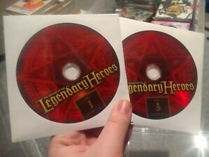 Legend-Of-The-Legendary-Heroes-Complete-DVD-DISCS-ONLY-FUNimation-Anime-Region-1