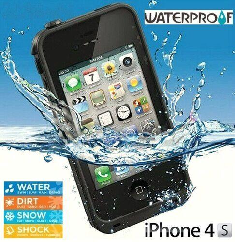 Custodia Waterproof Rigida Impermeabile Subacquea Anti Shock Per iPhone 4/4S