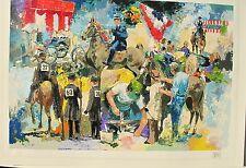 Wayland Moore - Limited Edition Horse Racing Serigraph
