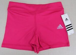 2289f5eda ADIDAS Youth Girl's Tech Fit Performance Athletic Running Shorts ...