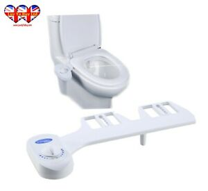 Toilet Bidet Cold Water Bidet Self Cleaning Nozzle Uk Water Pressure Control Ebay