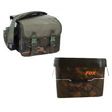 Fox NEW Camolite Carp Camo Lite Bait Bucket Carryall + 10ltr Bucket - CLU305