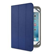 Belkin Universal TRI-FOLD FOLIO COVER CASE & STAND PER IPAD MINI 4, 3, 2, 1 Blu