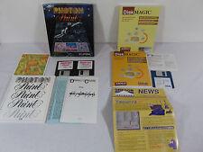 Photon Paint 2.0 & Disk Magic Software Amiga Computer Vintage Rare Computing